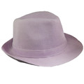 Classic Lilac Fedora Hat 1322