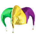 3 Panel Sequin Jester Hat 5870