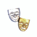 Comedy Or Tragedy Masks 1834