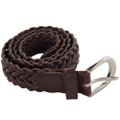 DOZEN Brown Hand Braided Belts Mix Sizes 2308A