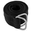 Black Military D-Ring Canvas Belt 2240