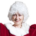 Santa/ Ms. Claus Curly Wig 6059