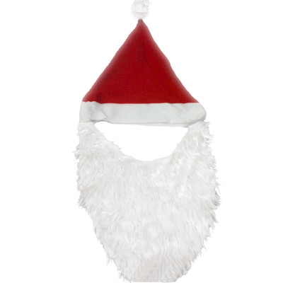 Santa hat with beard