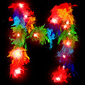 Deluxe LED Light Up Rainbow Boa 2039