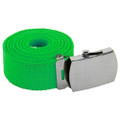 Kelly Green Canvas Adjustable Belt 2226