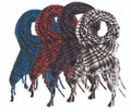 Bulk Shemagh Scarves | Wholesale Shemagh Scarves | Mixed Colors Dozen 2069D