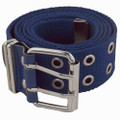 Grommet Belts Navy Canvas Two Hole Mix Sizes Dozen 2288A