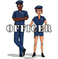 Police Officer Costume 4403