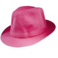 Costume Fedora Hat Pink 1326