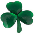 "DOZEN St. Patricks Day 2"" Shamrock Pins 6694"