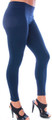 Navy Blue Footless Leggings 8090