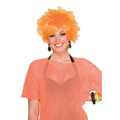 80&#039;s Orange Punk Costume Pixie Wig 6083