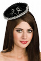 Black/Silver Mini Mariachi Sombrero Hat 6662