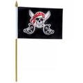 "DOZEN Wholesale Pirate Flags 12"" 9031"
