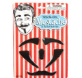 Stick-On Mustache & Facial Hair Kit 9058