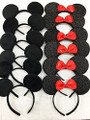 Disney Minnie Ears/Mickey Ears Headband Deluxe 6654