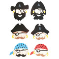 Foam Pirate Masks Dozen 1814