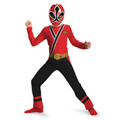 Red Ranger Samurai Classic Child's Costume 4722S-4722M