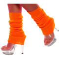 80&#039;s Neon Orange Leg Warmer 6749