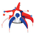 4th of July Patriotic Jester Hat 1544