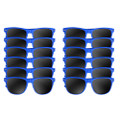 Royal Blue Sunglasses Dozen 1076D