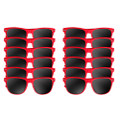 Red Sunglasses Dozen 1056D