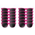 Hot Pink Sunglasses Dozen 1054D