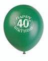 Birthday Balloons 40 Years The Party Continues Latex 3826