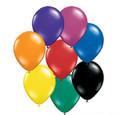 Assorted Jewel Tones Balloons 2000pcs 3874