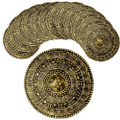 Gold Roman Shield Dozen 4507D