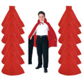 Child Costume Cape Red 27' Dozen 4522D
