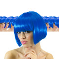 Blue Bob Supermodel Wig Dozen 6044D