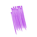 Purple Hair Extensions Dozen 6152D
