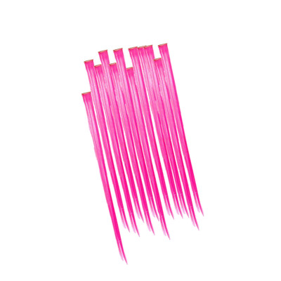 Hot Pink Hair Extensions 49