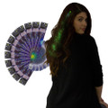 Green Starlight Fiber Optic Hair Extensions Dozen 6162D