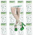 St Patricks Irish Shamrock Child Tights Dozen 8008D
