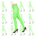 Green Fishnet Pantyhose Dozen 8046D