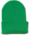 Beanie Long Hat Cap Kelly Green 5769