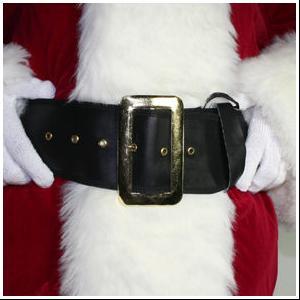 Black Santa Belt