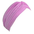 Pink Turban Head Cover Hat 5973