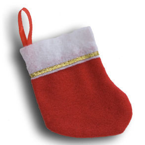 "5"" Mini Christmas Stocking"
