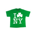 I Love NY Shamrock Shirt 8501