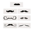 Mustache Tattoo Life-Size Assortment Dozen 9278D