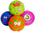 "Monster Beach Balls 11"" 4Ct 3399"
