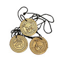 Pirate Coin Necklaces 48 Pack 9280