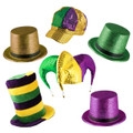 Mardi Gras Hat Assortment 5870A