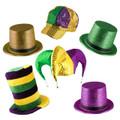 Mardi Gras Hat Assortment 5870A