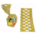 Smiley Face Goody Treat Bags Cellophane Dozen 3935D