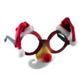 Santa Hat and Mustache Glasses 7330