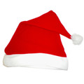 LED Santa Hat w/ Flashing Ball 5993